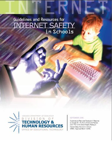 safety on internet. VA Internet safety in schools