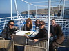 Ferry ride to Mykonos