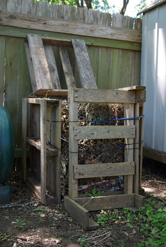 homemade compost bin  photo sharing