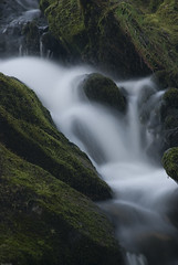 Soft (tanera) Tags: blur green water evening waterfall anywhere invernessshire wwwtaneracouk