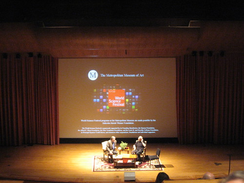 Oliver Sacks, Robert Krulwich at The Met