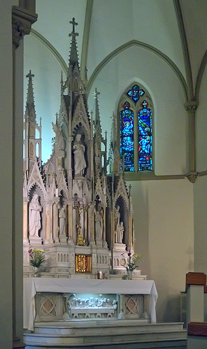 Saint Matthew the Apostle Roman Catholic Church, in Saint Louis, Missouri, USA - high altar