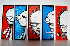 free art wood gallery (my dog sighs) Tags: acrylic fb mydogsighs mdf faf posca freeartfriday mydogpaints