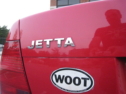 I Want a Woot Sticker
