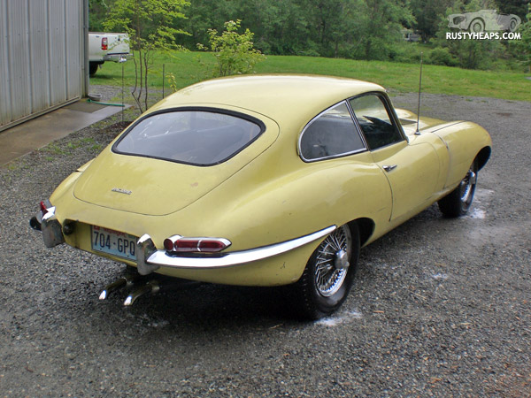1963 XKE FHC