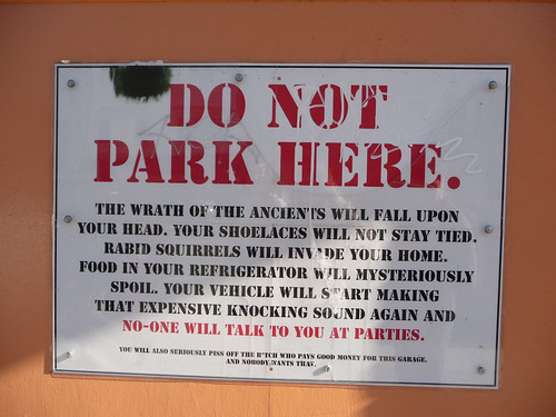 Best Parking Sign Ever.