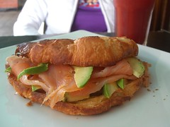 Smoked Salmon and Avocado Croissant - Marmalade 作者 avlxyz