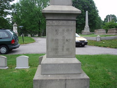 Lovecraft's Family Monument (Dr.Amy) Tags: providence lovecraft hplovecraft swanpointcemetery lovecraftsprovidence