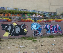 pleb rasp fhor (the fantastic fhore) Tags: marina graffiti brighton paint his blackrock fhore