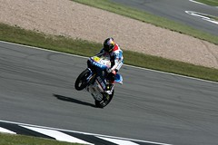 45, Scott Redding, Blusens Aprilia Junior 125cc (blzeebubalub) Tags: bike canon 45 1d junior motorcycle british motogp gp 125cc aprilia dorna blusens mark2n doningtonpark bwincom scottredding