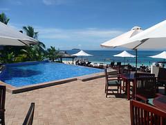 Pool at Matamanoa (All About Travel) Tags: ocean travel vacation tourism water fiji swimmingpool southpacific hotels resorts matamanoa allabouttravel fijihotels allabouttours allaboutfiji allaboutsouthpacific fijiresorts matamanoaislandresort
