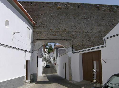 Entrada Castelo de Serpa