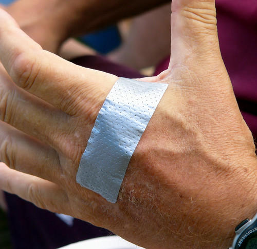 Duct Tape Bandage by Kathleen Tyler Conklin, on Flickr