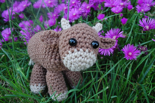Sweet little cow crochet pattern