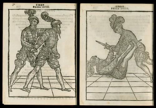 L'arte de l'Armi by Achille Marozzo, 1536 p