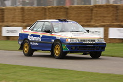 Colin Mcrae's Subaru Legacy rally Goodwood festival of speed 2008 (richebets) Tags: festival colin speed rally f1 subaru 2008 legacy goodwood mcrae festivalofspeed