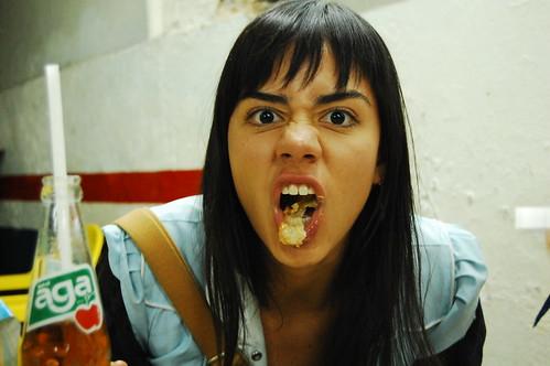 HAHA... SHE'S NUTS