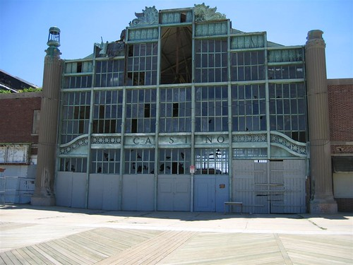 The Asbury Park Casino (pre-renovation)