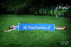 Long Vehicle (__jersey) Tags: male grass fun picnic russia moscow playstation openair afisha 080719 lastfm:event=482966