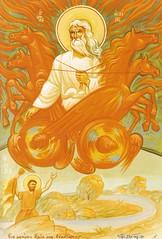 Holy Prophet Elias (A Whistling Train) Tags: fire elias elijah prophet chariot