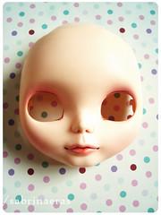 A new girl is coming (Sabrina Eras) Tags: bigeyes doll plastic blythe custom