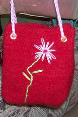 small felted tote