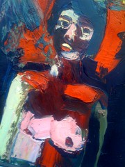 A nice example from Joan Brown, student of Elmer Bischoff, classmate of Vivian Gordon (p0ps Harlow) Tags: sanfrancisco california ca painting photo fineart iphone p0ps joanbrown