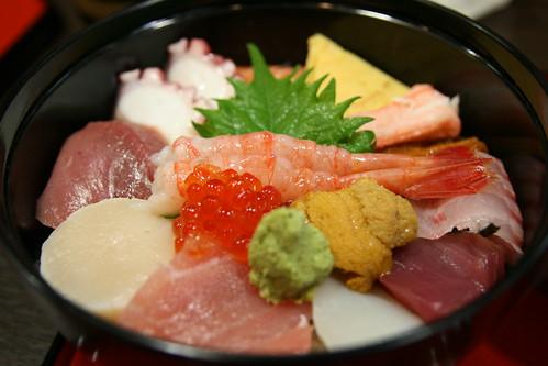 海鮮丼 │ 料理 │ 無料写真素材
