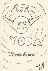 Yoda sketchbook page 80 - Mary Woodring