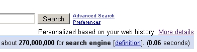 Google Alludes to Personalized Results