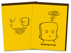 Mr Toast Letterpress Cards