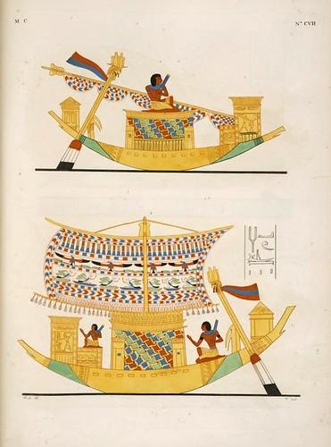 22- Navegacion-Barcas de variados ornamentos
