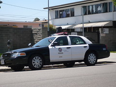 Los Angeles Police (bigmikelakers) Tags: california ford losangeles westla lapd crownvictoria policedepartment