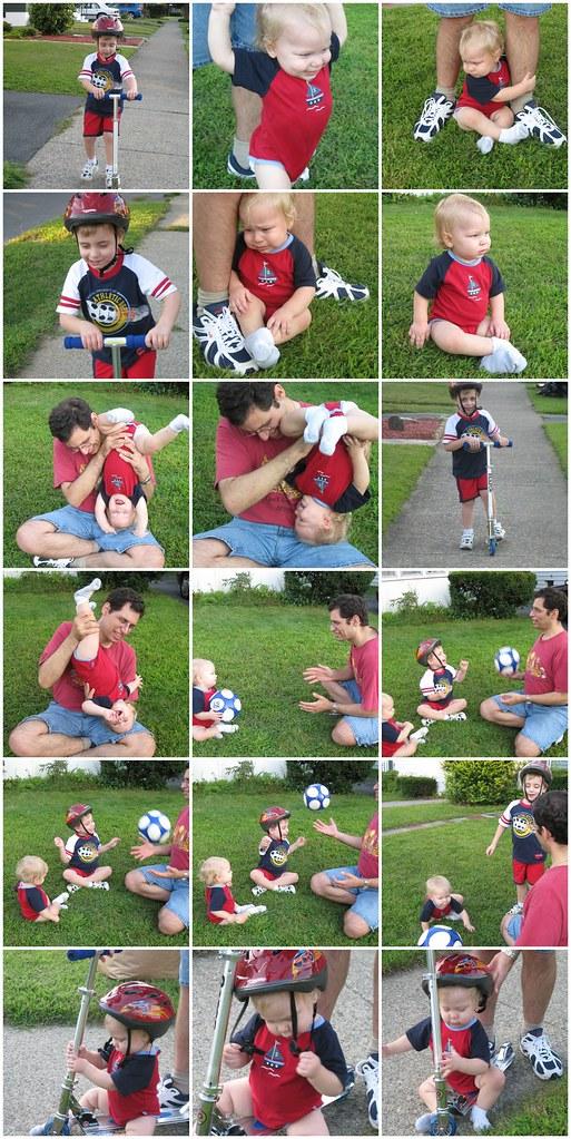 Summer fun with my boys