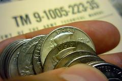 Score! (mr.smashy) Tags: money silver coin quarter bling woot junksilver