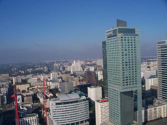 Warsaw - View From Culture Palace