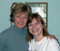 Lori and Rhonda 2003