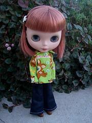 67/365 Aren't you a cute little dear today?
