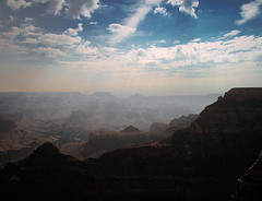 arizona (someone to drive you home.) Tags: light arizona panorama usa cloud rock america landscape view