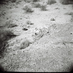 Gila River Indian Reservation (kevin dooley) Tags: camera arizona bw favorite white black hot southwest 120 film beautiful wow river lens landscape toy interesting fantastic rocks flickr pretty desert very good gorgeous indian awesome award superior dry tire super best plastic most diana wash utata winner stunning excellent medium format much stark incredible breathtaking exciting magma reservation gila maricopa phenomenal