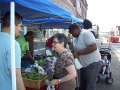 Tino & Aida on Opening Day (Old North St. Louis) Tags: city farmers market north