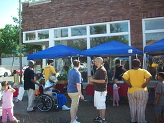 Opening Day in front of the Parks Building (Old North St. Louis) Tags: city farmers market north