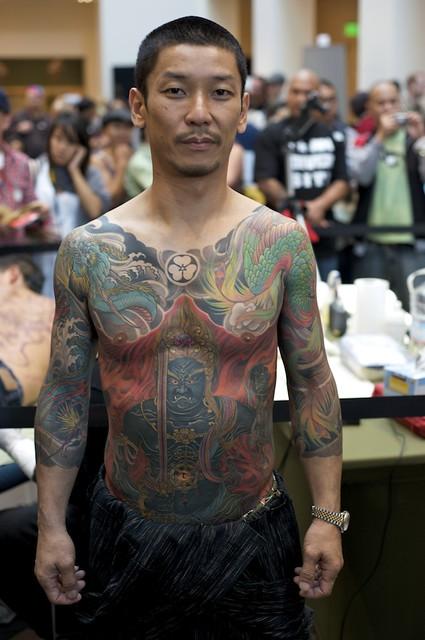 Tattoo by Shige of YellowBlaze Tattoo in Japan