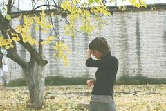 автопортрет 196й день (tomato_senya) Tags: trees selfportrait colour me bodylanguage 365ru