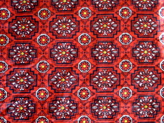vintage red fabric