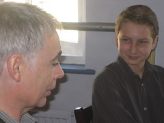 Eoin Colfer and Charlie 2