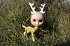 Boston Blythe Halloween Meet 10/18/08 awesome blythe deer