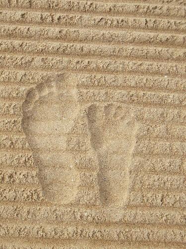 Mother & Daughter Foot prints