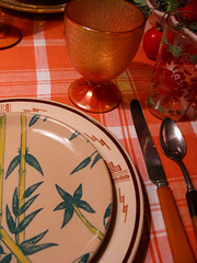 Tepco Tan Bamboo (prima seadiva) Tags: orange brown vintage amber dish tan diner dishes tablesetting restaurantware tanbody restaurantchina