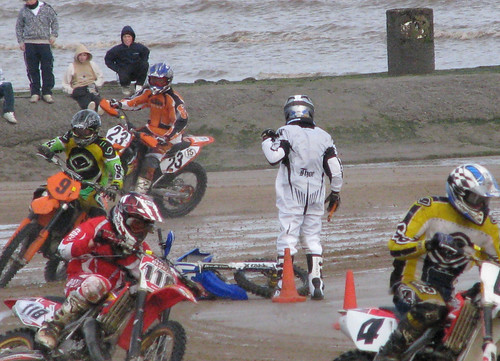 Mablethorpe sandracing Oct 2008